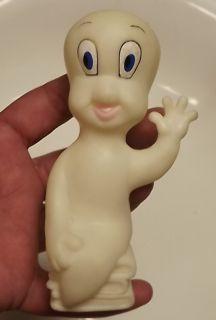 Casper Gasparin Ghost Doll Figure Rubber Plastic Toy 1995 Peru Vintage