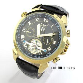 Business Mens Automatic Mechanical Calendar Date Wrist Watch Fashion