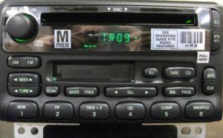 Ford OEM CD Cassette radio. New factory original stereo