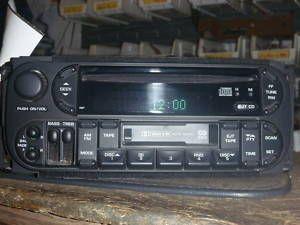 02 06 Dodge Caravan Neon Intrepid Radio CD Cassette RBP