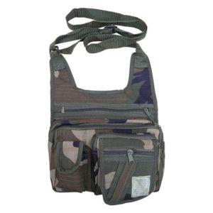 Army Combat Travel Shoulder Bag Money Utility Bum Belt