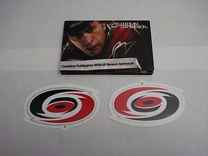 CAROLINA HURRICANES 2008 09 NHL POCKET SEASON SCHEDULE AND (2