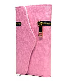 Fashion Wallet Zip Card Holder Cover Case for Samsung Galaxy SIII S3
