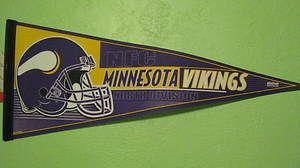 Wincraft NFL Minnesota Vikings North Division 30 Pennant