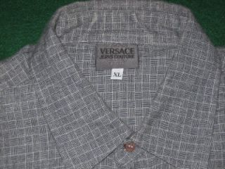 Versance Shirt  XL 17  TGrey Pattern  Con: VGood  Great w. Suit