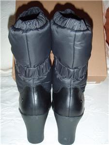 nib ugg australia cassady boot black size 7