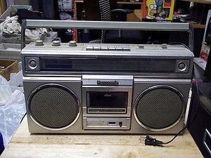 Panasonic RX 5010 Boombox Stereo Am FM Radio Cassette Deck Player