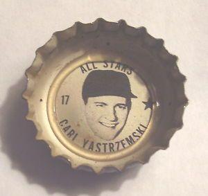 Carl Yastrzemski 1967 Sprite Coca Cola Coke Bottle Cap Boston Red Sox