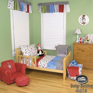 Boy Toddler Dr. Seuss Cat In The Hat Crib Nursery Blanket Collection