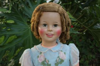 Ideal Shirley Temple Patti Playpal Doll Original Outfit RARE Watch 36