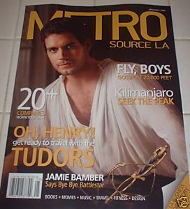 Henry Cavill April 2009 Los Angeles Magazine he udors