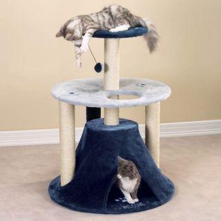 Savvy Tabby Kitty Teepee Perch Cat Play Furniture