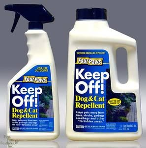 Four Paws Keep Off Outdoor Dog Cat Repellent Pump S