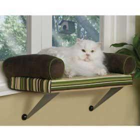 Lazy Pet Kitty Window Perch Chaise Cat Kitten Bed