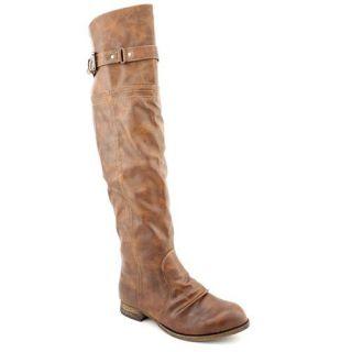 Carlos Santana Traverse Womens Size 7 Brown Synthetic Fashion   Knee