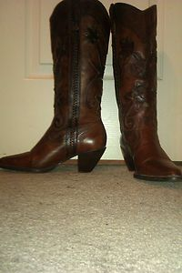 Carlos Santana Westen Rodeo Brown Boots 7