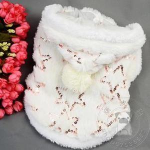 Dog Pet Cat Clothing Coat Warm Luxurious Cute YF 54