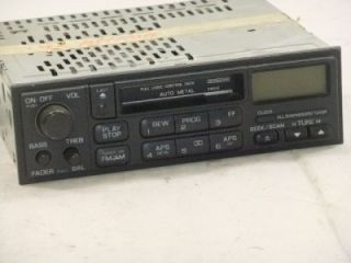 stereo cassette radio nissan altima 1995 1996 1997 without cd player