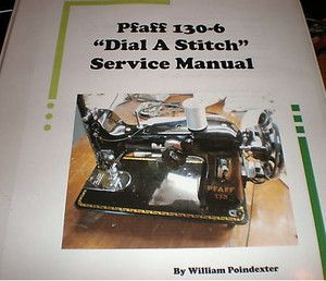 Pfaff 130 6 Service Manual PC Windows CD Version