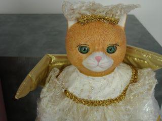 Carol Anne Bette Ball Goebel Porcelain Cat Retired