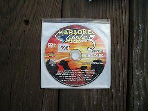 KARAOKE CDG Chartbuster Pro Disc Karaoke Idols 2007 CBSP7128