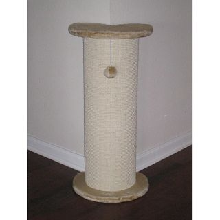 Gopetclub Cat Corner Climber Toy Scratching Post Angled F17 Brand New