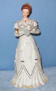 Lenox Christmas Carol 2002 Annual Victorian Lady Nibcoa Private Sale