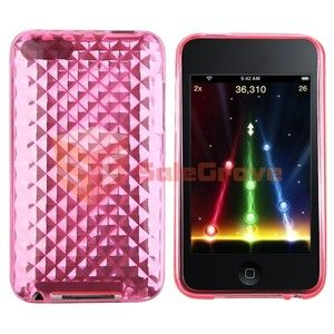 Pink Case TPU Cover Skin for iPod Touch 2nd 3rd Gen 3G