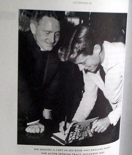 IN SECRET RECORDINGS JOHN KENNEDY SIGNED BOOK CAROLINE KENNEDY 2 CDs