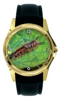 CATERPILLAR WATCH BUG LARGE DIAL   GOLD OR SILVER A77
