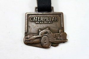Vintage Caterpillar Watch Fob Gibbs Cook Equiptment Co Des Moines Iowa