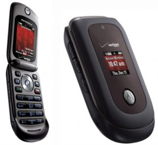 Motorola MOTO VU204   Brown (Verizon) Camera Cell Phone Bundle
