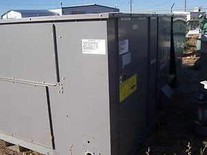 CARRIER 20 TON PACKAGE ELECTRIC COOLING UNIT W NATURAL GAS HEAT MODEL