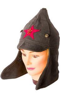 USSR Army Uniform Wool Cavalry Budenovka Red Star Hat Communist Symbol