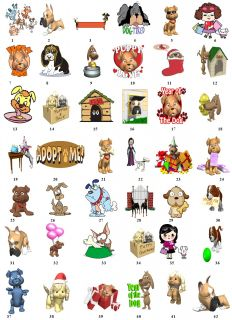 Cartoon Dog Puppy Return Address Labels Gift Favor Tags Gift Buy 3 Get
