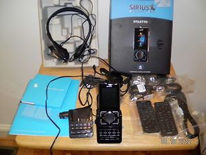 Sirius Stiletto 2 Portable Satellite Radio Receiver Mp3 Player