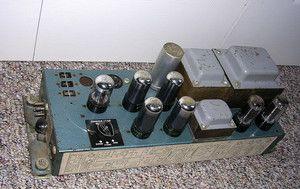 Leslie 6V6 Tube Amp 44W 147 hookup 6SN7 Field Coil Speaker Model
