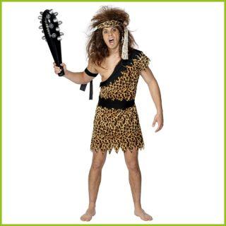 Cave Man Tarzan Cave Woman Jungle Jane Animal Print Fancy Dress