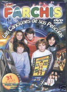 DVD Los Parchis Las Canciones de Sus Peliculas SEALED