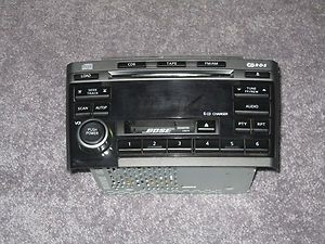 2002 2003 Nissan Maxima 6 CD Player Radio Bose