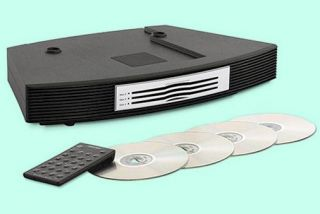 bose multi disc 3 disc cd changer w remote for wave radio cd players
