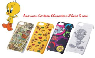 Warner Brothers Cartoon Characters iPhone 5 Case Cover Tom Jerry Comic