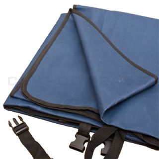 57x57 Waterproof Hammock Pet Dog Cat Car Seat Cover Blue