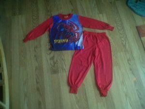 Spiderman Toddler Boys Size 4T Pajamas EUC