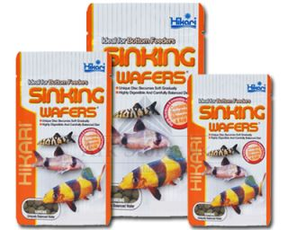 Sinking Wafers Bottom Feeder Catfish Fish Tank Food 25 50 110 G