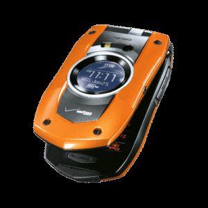 New Casio C711 Boulder Orange Verizon Cell Phone