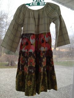 MATILDA JANE Field Trip Celeste Peasant DRESS SZ 6 NWOT