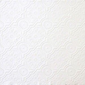 Ornate Ceiling Tile Paintable Wallpaper Double Rolls 32817