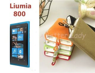 MOFI Cell Phone Pouches Cases for Nokia Lumia 800