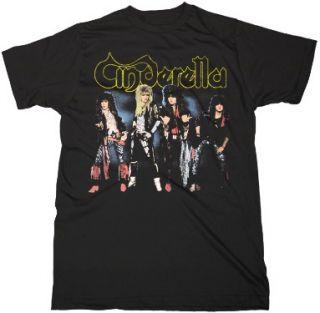 Cinderella CD CV Night Songs Shake Me Official Shirt XL New